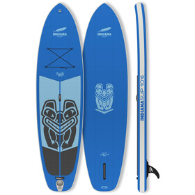 Indiana SUP 10'6 Family Pack Inflatable SUP with 3-Pieces Fibre/Composite Paddle, blue